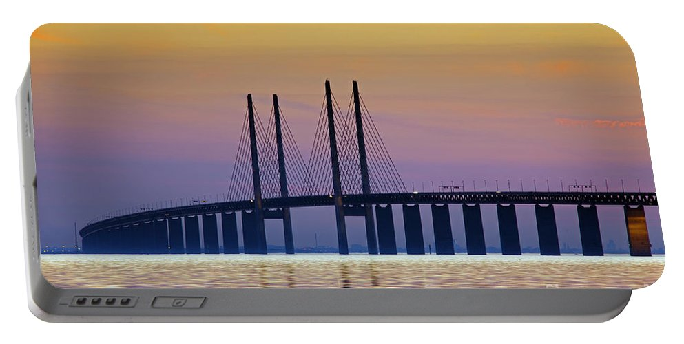 Baltic Sea Portable Battery Charger featuring the photograph 121213p214 by Arterra Picture Library