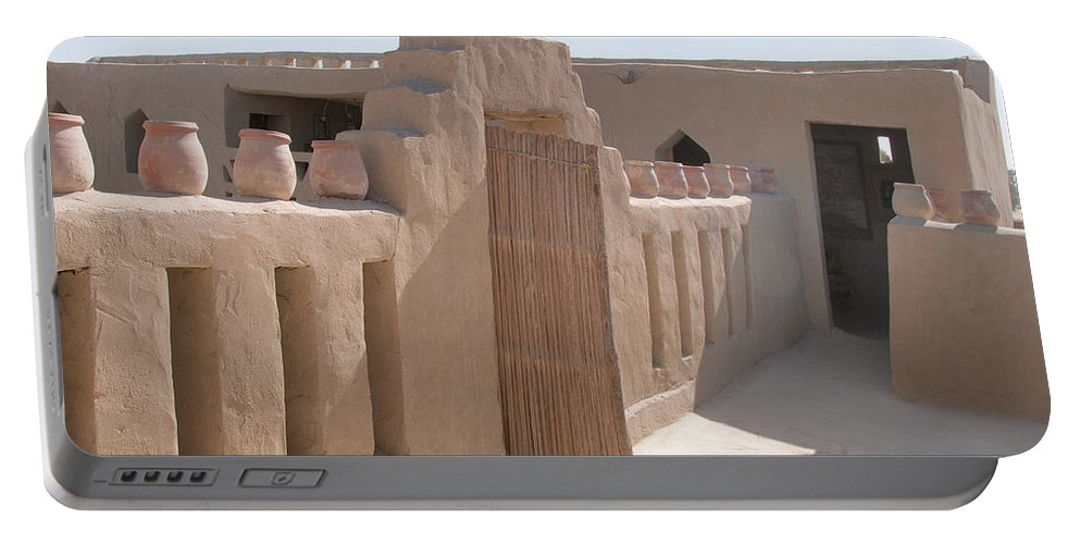 Egypt Portable Battery Charger featuring the digital art Badr by Carol Ailles