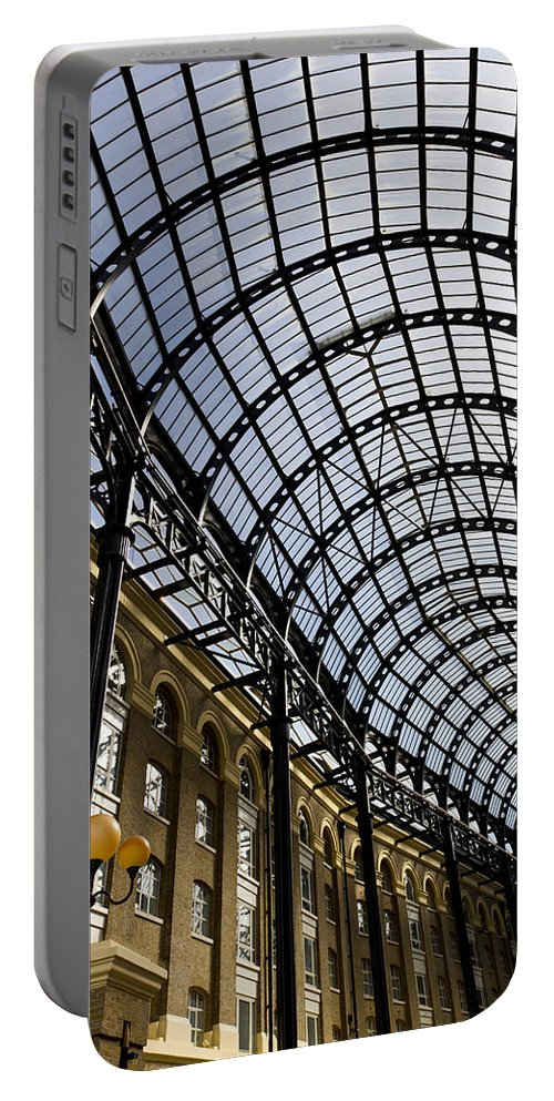 Hays Galleria Portable Battery Charger featuring the photograph Hay's Galleria London by David Pyatt