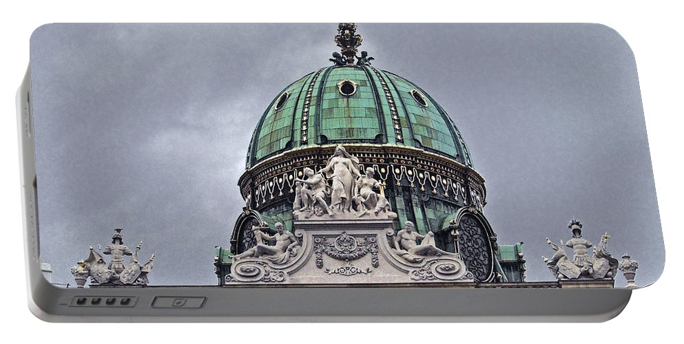 Hofburg Portable Battery Charger featuring the photograph Vienna Austria by Howard Stapleton