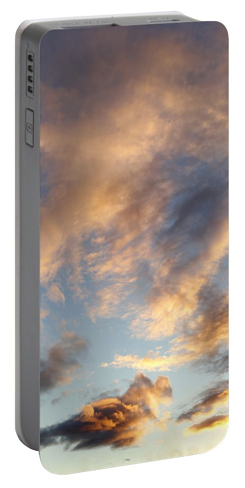 Abstract Portable Battery Charger featuring the photograph Bright Sky by Les Cunliffe