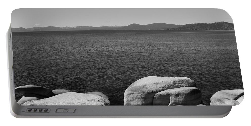 America Portable Battery Charger featuring the photograph Lake Tahoe by Frank Romeo