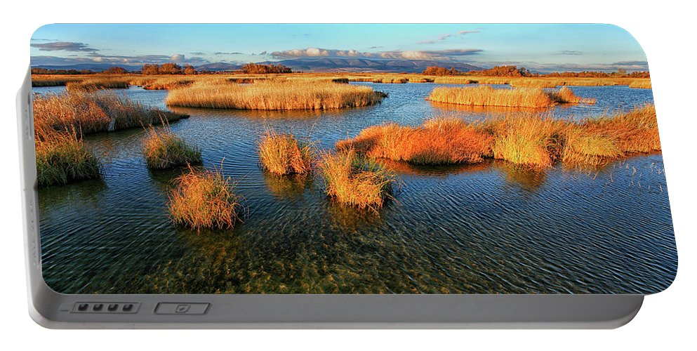 Nobody Portable Battery Charger featuring the photograph A General View Of The National Park 16 by David Santiago Garcia