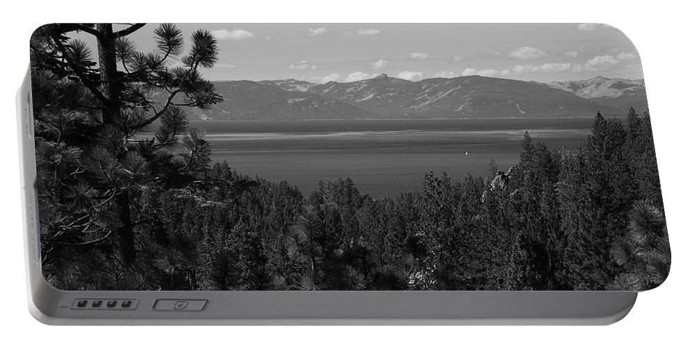 Alpine Portable Battery Charger featuring the photograph Lake Tahoe by Frank Romeo