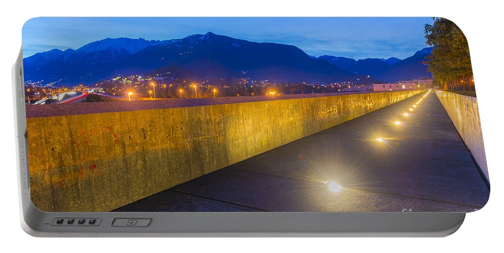 Walkway Portable Battery Charger featuring the photograph Walkway by Mats Silvan