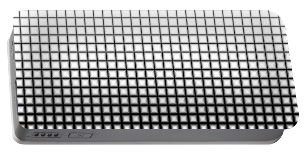 New Portable Battery Charger featuring the digital art Abstract by Dan Radi