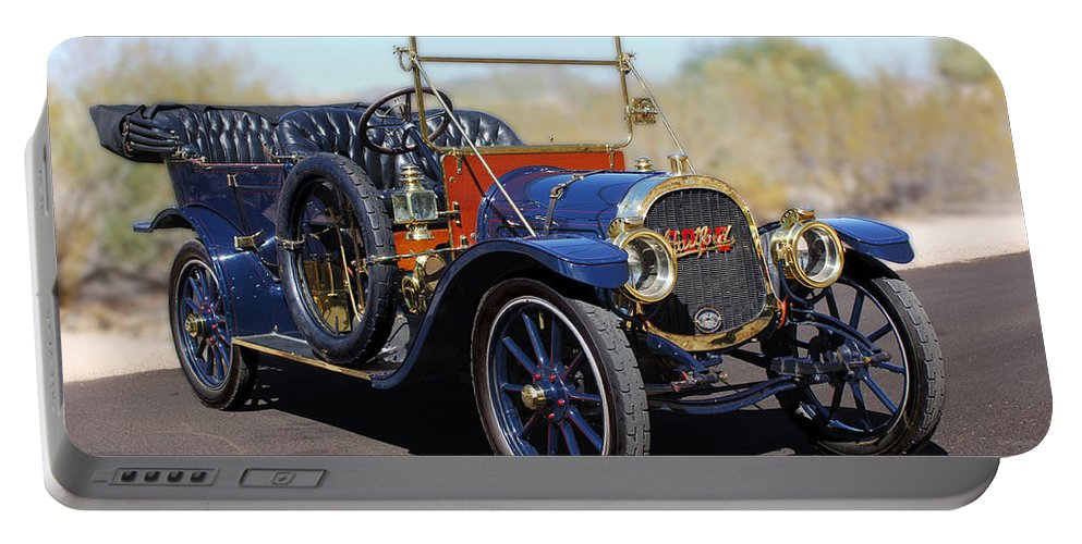 1910 Pope Hartford Model T Portable Battery Charger featuring the photograph 1910 Pope Hartford Model T by Jill Reger