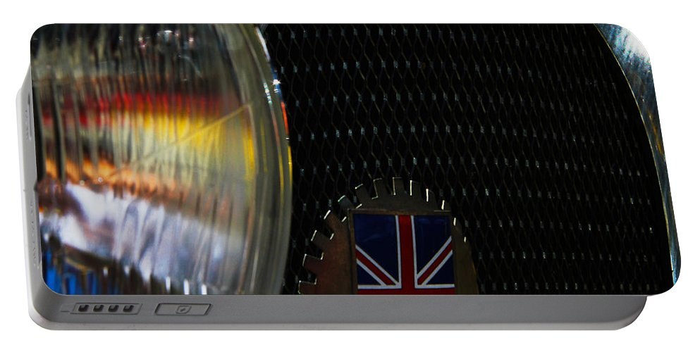 Classic Cars Portable Battery Charger featuring the photograph 1920s Racer by Digital Kulprits