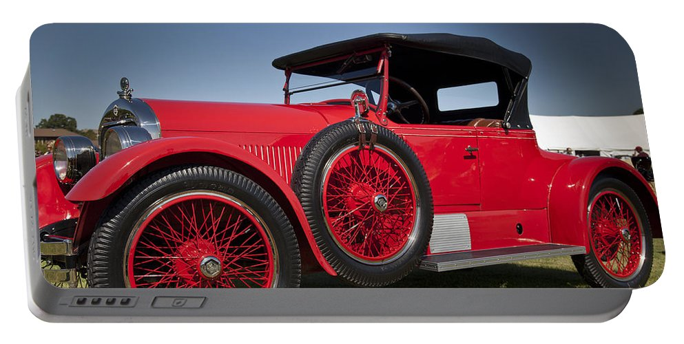 1925 Portable Battery Charger featuring the photograph 1925 Stutz Model 693 by Jack R Perry