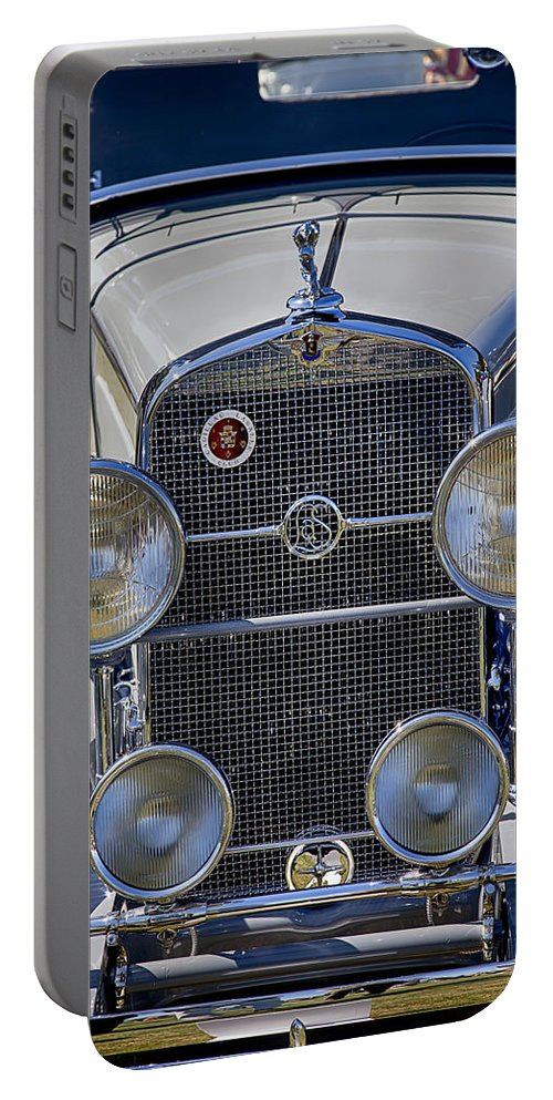 1930 Portable Battery Charger featuring the photograph 1930 Lasalle 340 by Jack R Perry