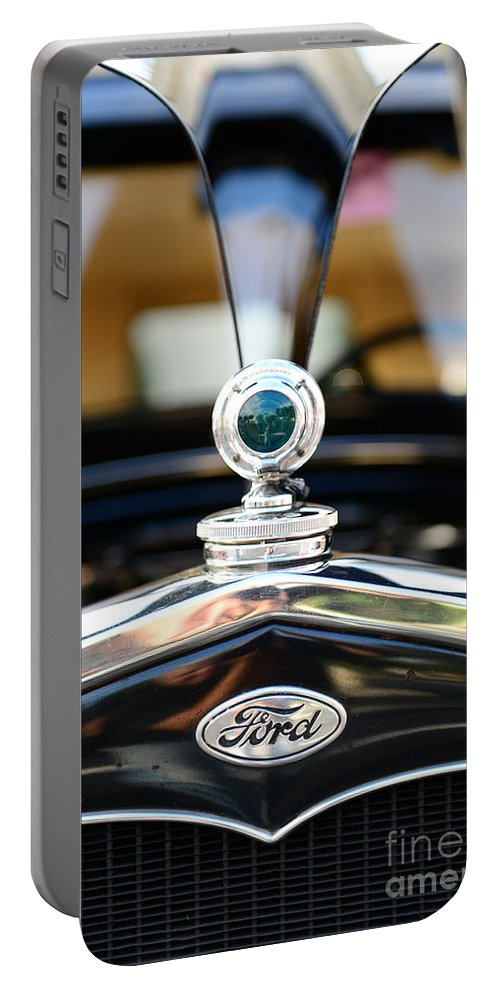 1931 Ford Model A Portable Battery Charger featuring the photograph 1931 Ford Model A by Paul Ward