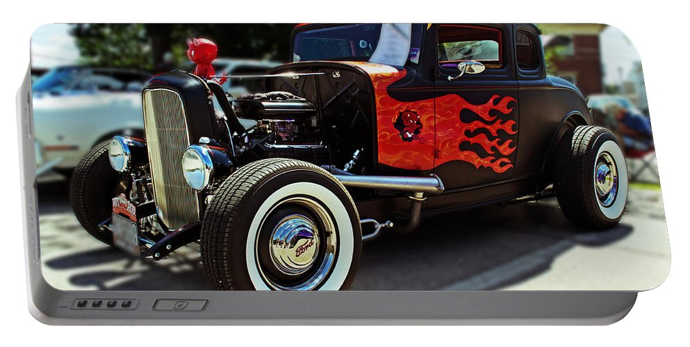 Coupe Portable Battery Charger featuring the photograph 1932 Ford Coupe by Kevin Fortier