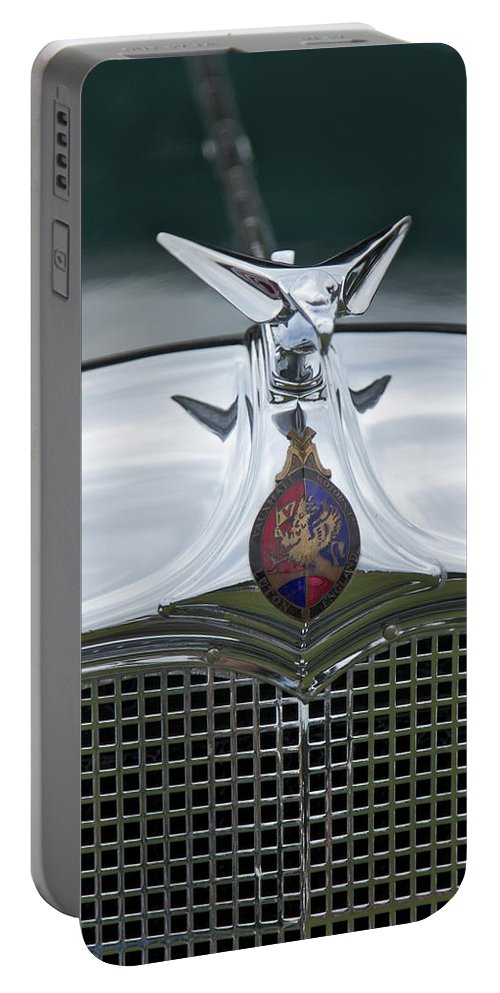 1934 Portable Battery Charger featuring the photograph 1934 Vauxhall by Jack R Perry
