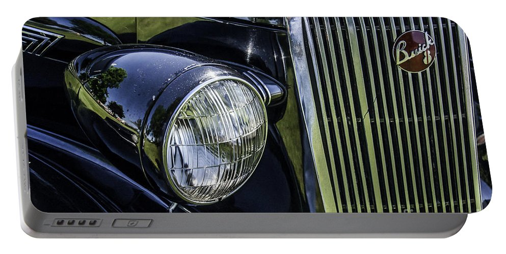 Buick Portable Battery Charger featuring the photograph 1936 Buick Vectoria Coupe by Ronald Grogan