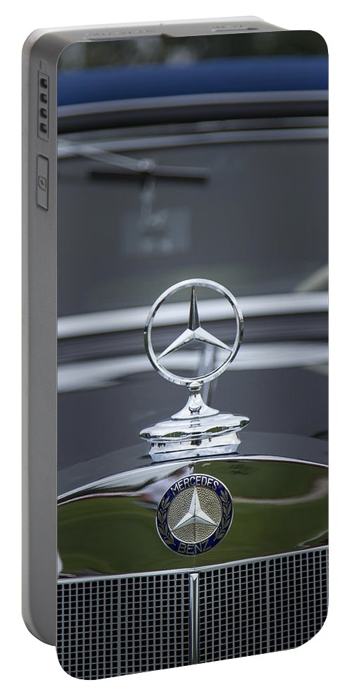 1937 Portable Battery Charger featuring the photograph 1937 Mercedes Benz by Jack R Perry
