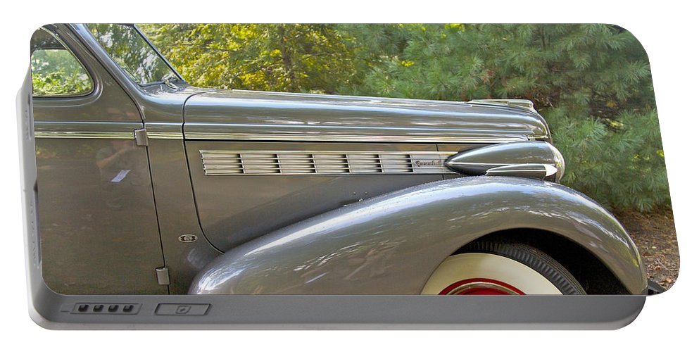 Antique Portable Battery Charger featuring the photograph 1938 Buick Special by Jack R Perry