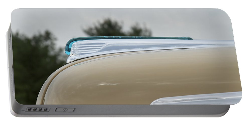 Ford Portable Battery Charger featuring the photograph 1947 Ford by Jack R Perry