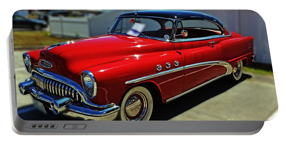 Auto Portable Battery Charger featuring the photograph 1953 Buick by Kevin Fortier