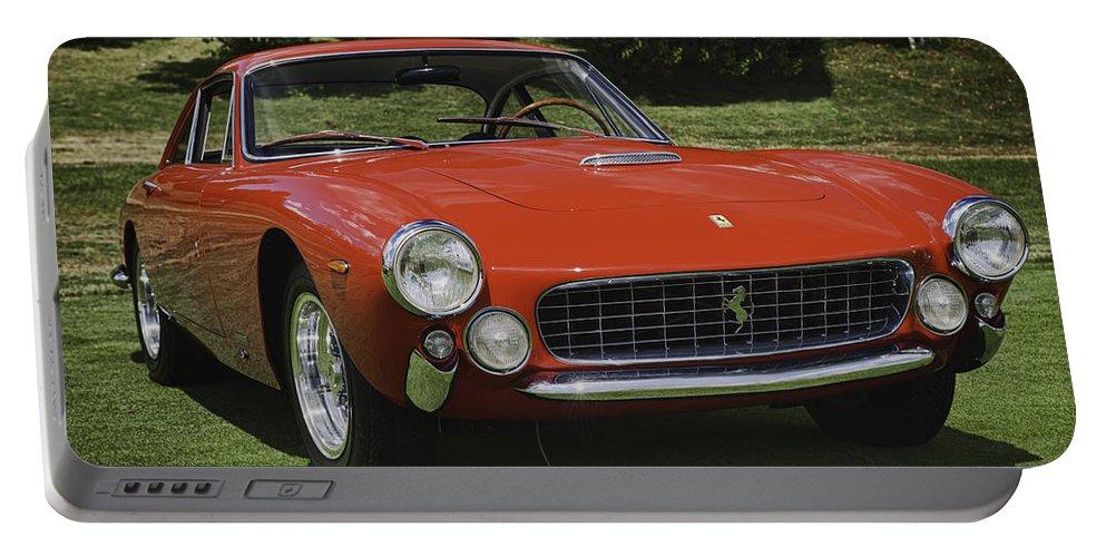 1963 Ferrari Portable Battery Charger featuring the photograph 1963 Ferrari 250 Gt Lusso by Sebastian Musial