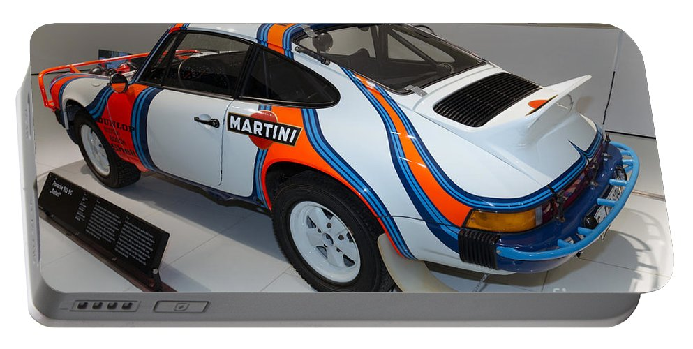 3d Portable Battery Charger featuring the photograph 1978 Porsche 911 Sc by Paul Fearn