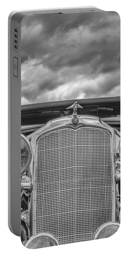 Antique Portable Battery Charger featuring the photograph 1934 Vauxhall by Jack R Perry