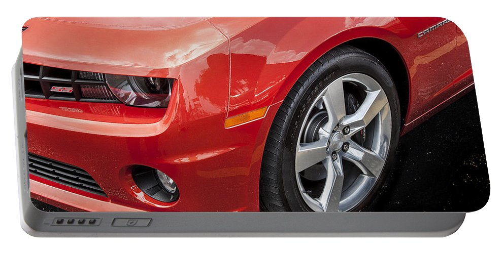 2012 Chevy Portable Battery Charger featuring the photograph 2012 Chevy Camaro Ss by Rich Franco