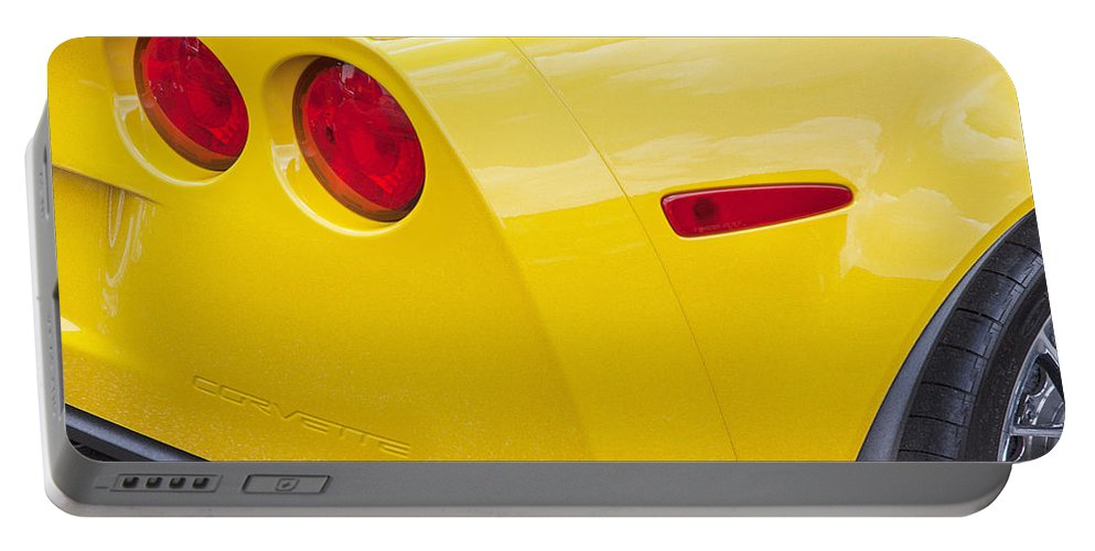 2013 Corvette Portable Battery Charger featuring the photograph 2013 Chevy Corvette Zr1 by Rich Franco