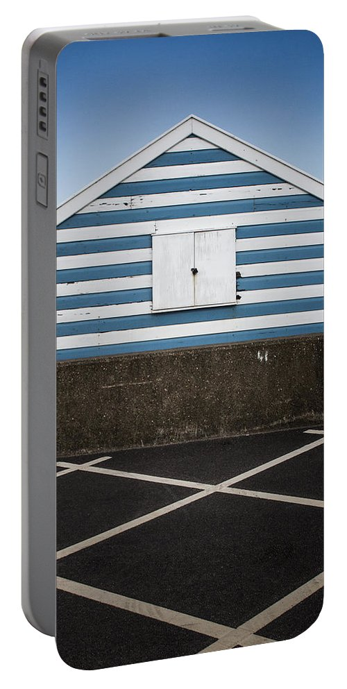 Beach Hut Portable Battery Charger featuring the photograph Beach Hut 41 by Dayne Reast