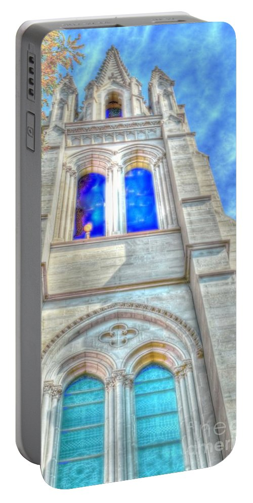 Church Portable Battery Charger featuring the photograph Beautiful Church by Kathleen Struckle
