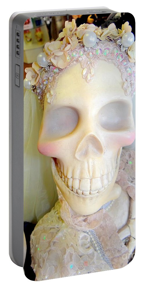 Bride Portable Battery Charger featuring the photograph Blushing Bride by Ed Weidman