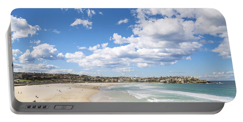 Architecture Portable Battery Charger featuring the photograph Bondi Beach In Sydney Australia by Jacek Malipan