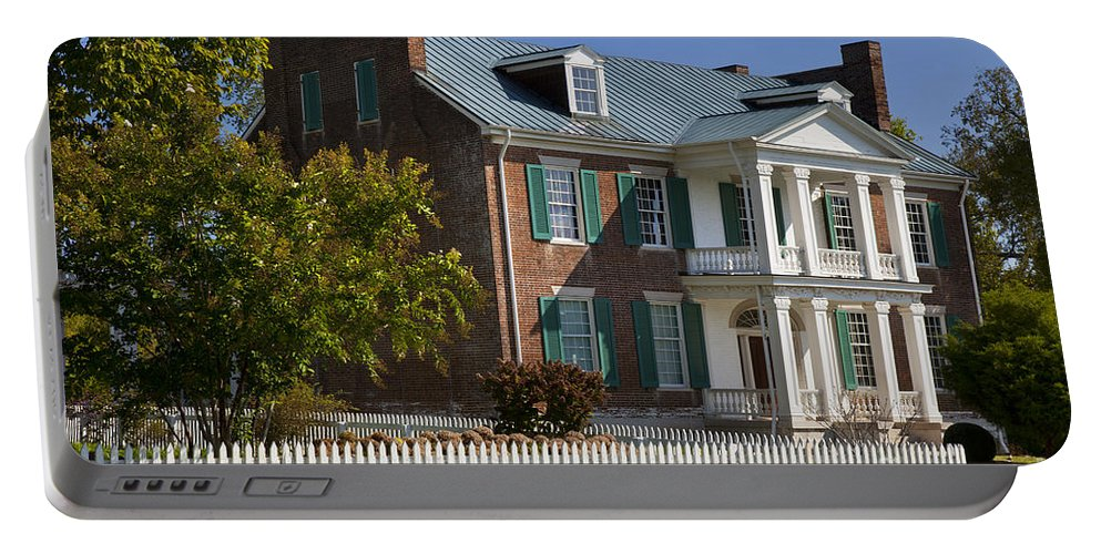 Historic Portable Battery Charger featuring the photograph Carnton Plantation by Brian Jannsen