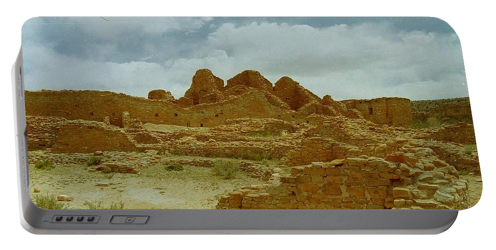 Chaco Canyon Portable Battery Charger featuring the photograph Chaco Canyon by Mike Wheeler