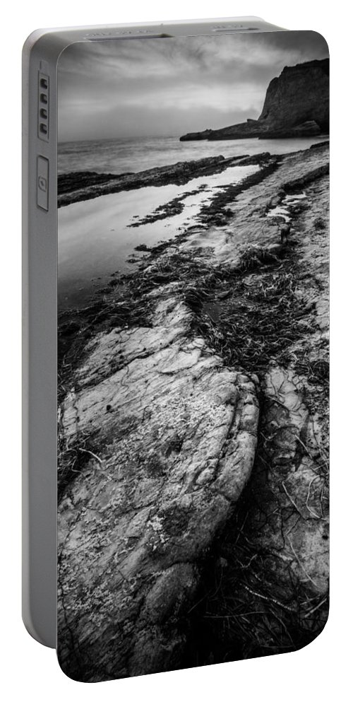 Panther Beach Portable Battery Charger featuring the photograph Changing Tides by Dayne Reast