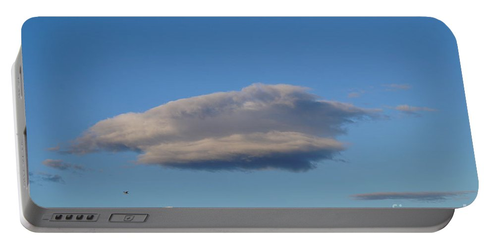 Low Clouds Portable Battery Charger featuring the photograph Clouds by Jeffery L Bowers