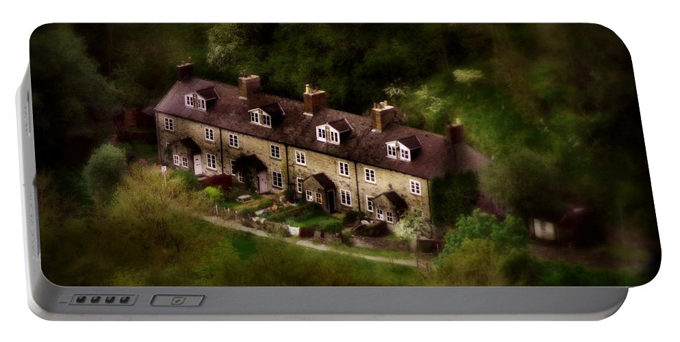 Bakewell Portable Battery Charger featuring the photograph Country House In Bakewell Town Peak District - England by Doc Braham
