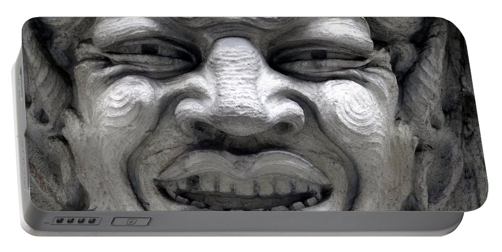 Ansonia Portable Battery Charger featuring the photograph Devilish Smile by Ed Weidman