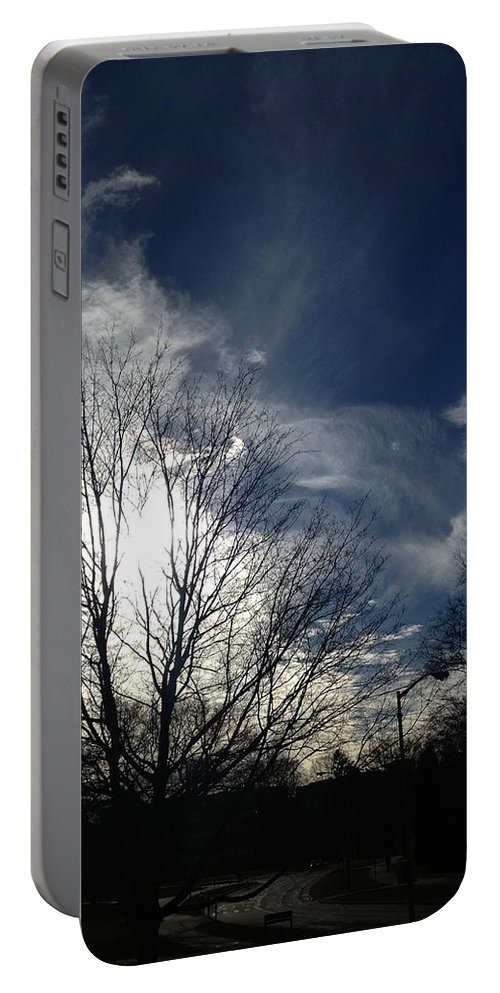 Clouds Portable Battery Charger featuring the photograph Explosion by Joseph Yarbrough