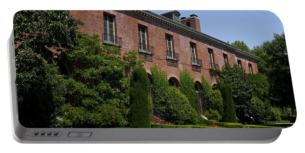 Filoli Portable Battery Charger featuring the photograph Filoli by Jason O Watson