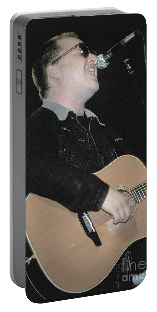 Songwriter Portable Battery Charger featuring the photograph Gene Pitney by Concert Photos