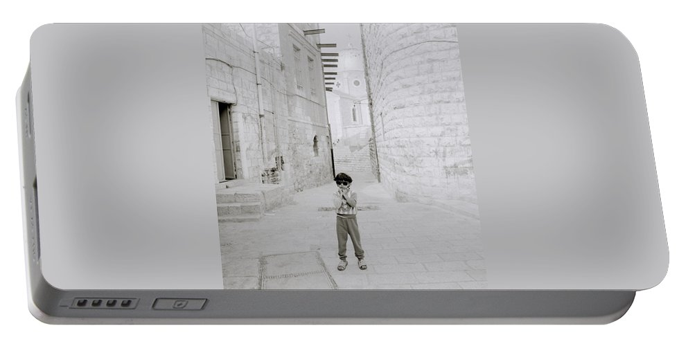 Children Portable Battery Charger featuring the photograph Innocence by Shaun Higson