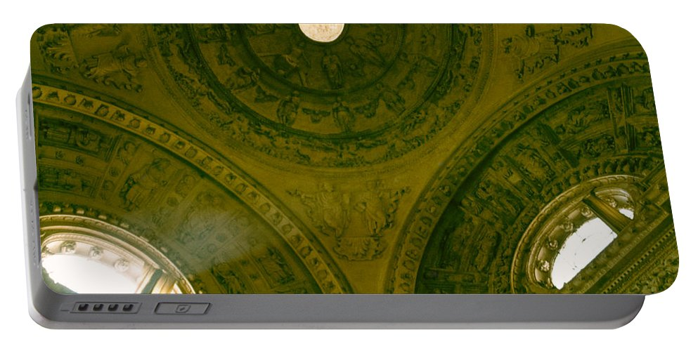 Looking Up Portable Battery Charger featuring the photograph Looking Up Sevilla by David Hohmann