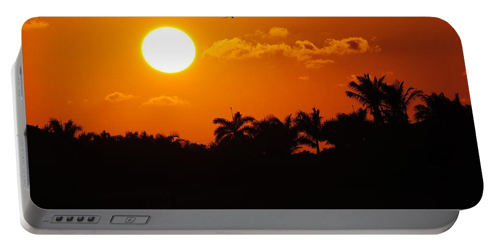 Marco Portable Battery Charger featuring the photograph Marco Island Sunset by David Hart