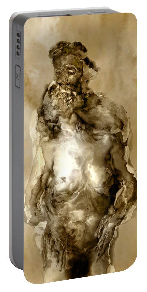 Nude Portable Battery Charger featuring the photograph Melt by Kurt Van Wagner