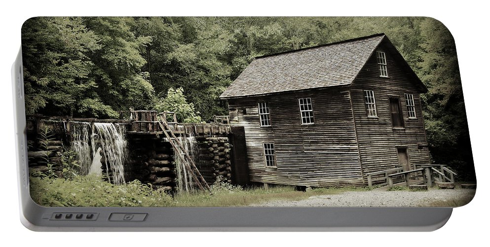 Mingus Mill Portable Battery Charger featuring the photograph Mingus Mill by Stephen Stookey