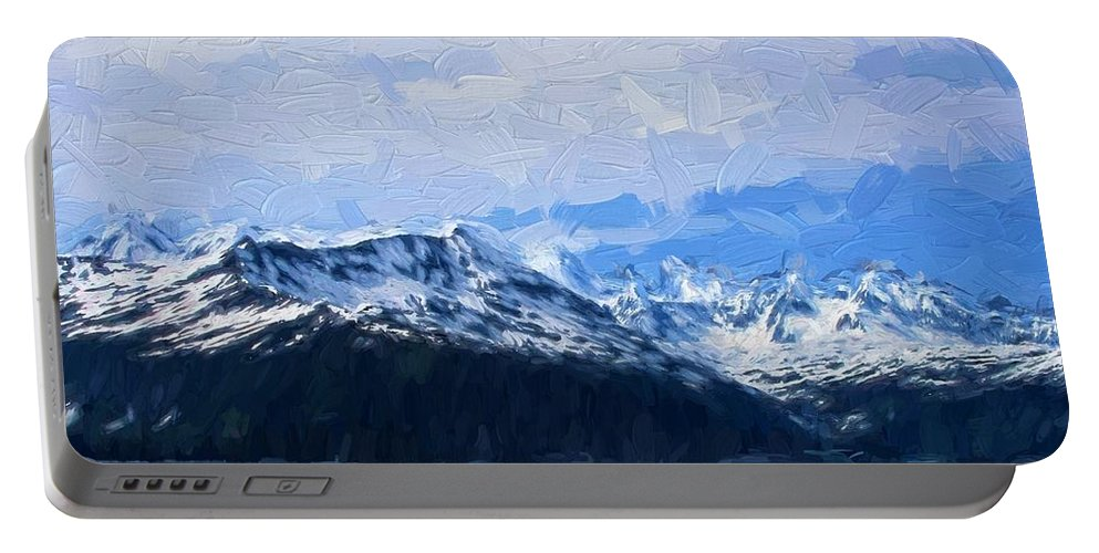 Mountains Portable Battery Charger featuring the photograph Mountains by Bill Howard