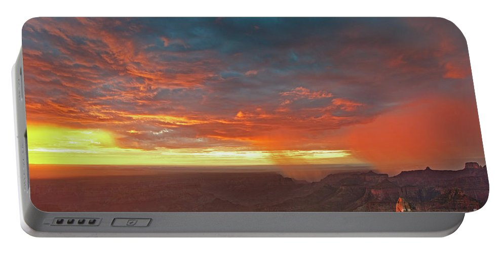 North America Portable Battery Charger featuring the photograph North Rim Grand Canyon National Park Arizona by Dave Welling