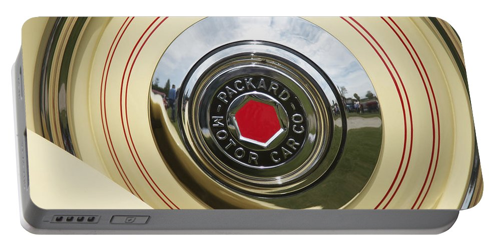 Antique Portable Battery Charger featuring the photograph Packard 1936-37 by Jack R Perry