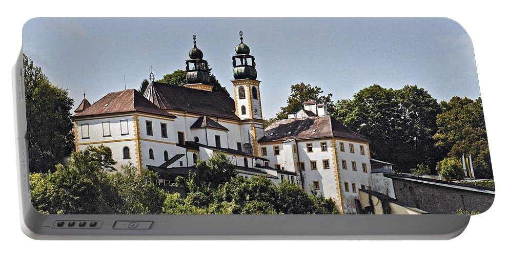 Church Portable Battery Charger featuring the photograph Passau Germany by Howard Stapleton