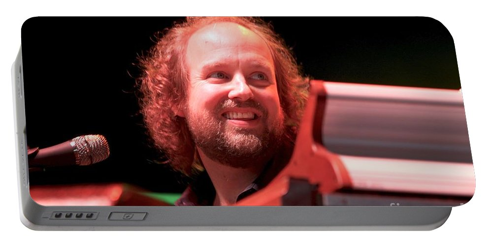Progressive Rock Portable Battery Charger featuring the photograph Phish by Concert Photos